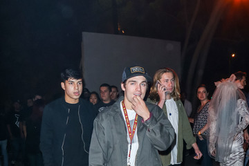 Dylan Sprayberry Celebrities Are Seen at Haunted Hayride at Griffith Park