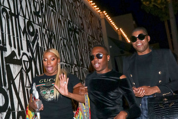 EJ Johnson NeNe Leakes At Craig's In West Hollywood