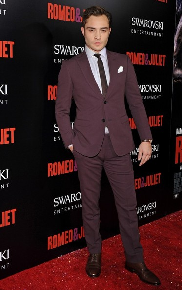 Ed Westwick - 'Romeo and Juliet' Premieres in Hollywood