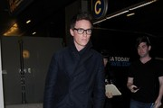 Eddie Redmayne at LAX