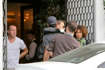 Eduardo Cruz Olivier Martinez Out for Lunch