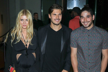Elena Samodanova Gleb Savchenko, Elena Samodanova, and Alan Bersten Are Seen Outside the W Hotel in Hollywood