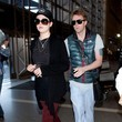 Elijah Blue Allman Cher and Her Son at the Airport