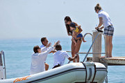 Elisabetta Gregoraci and Falco Briatore Photos - 1 of 5 Photo