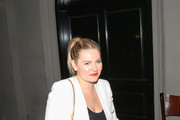 Elisha Cuthbert Outside Craig's Restaurant In West Hollywood