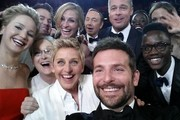 Celebrity social media pictures from Oscar night.