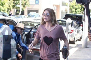 Ellen Pompeo Chris Ivery Chris Ivery and Ellen Pompeo Go to Lunch