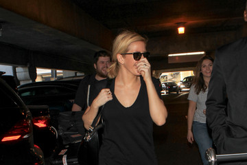 Ellie Goulding Celebs Spotted at LAX