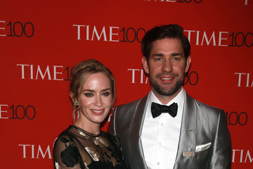 Emily Blunt Stars Attend The Time 100 Gala In New York City