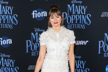 Emily Mortimer Premiere Of Disney's 'Mary Poppins Returns'