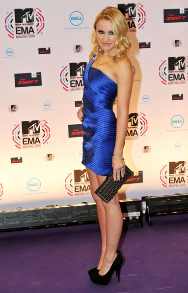Emily Osment The 2010 MTV European Video Awards.