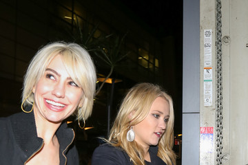 Emily Osment Emily Osment and Chelsea Kane Outside the ArcLight Theatre in Hollywood