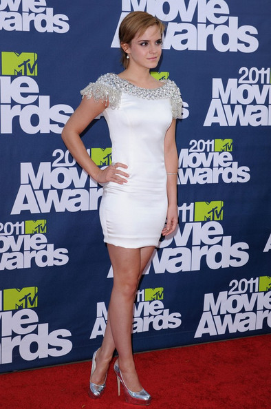 emma watson mtv movie awards pictures. Emma Watson - 2011 MTV Movie