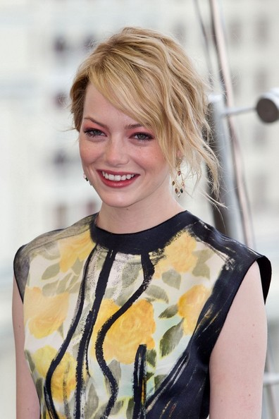 "Emma Stone - ""Amazing Spider-Man"" photocall in Russia"
