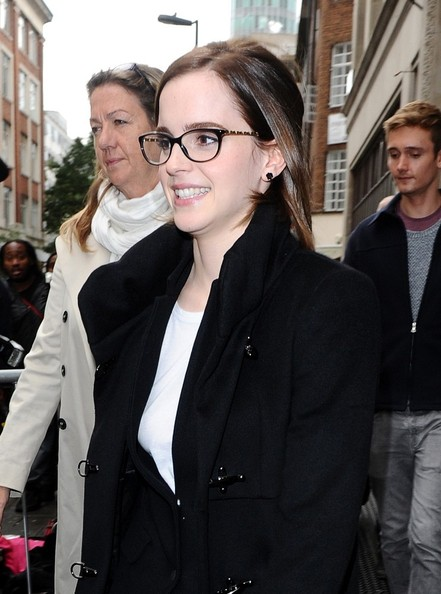 Emma Watson - Emma Watson Makes the Rounds in London 2