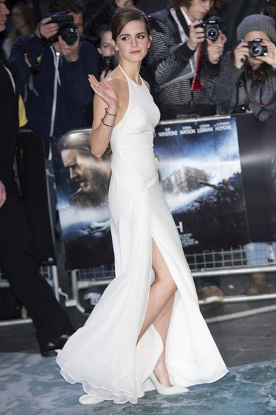 Emma Watson - Red Carpet Arrivals at the 'Noah' Premiere