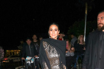 Emmanuelle Chriqui Emmanuelle Chriqui Is Seen Outside Entertainment Weekly's SAG Awards Party At Chateau Marmont