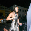 Eniko Parrish Eniko Parrish Outside Kevin Hart's Birthday Party At TAO In Hollywood