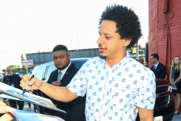 Eric Andre Eric Andre Outside Vista Theatre In Hollywood