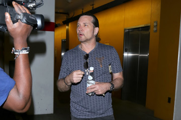 Eric Singer Kiss's Eric Singer Leaves ArcLight Theatre in Hollywood