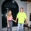 Erika Costell Jake Paul Outside Craig's Restaurant In West Hollywood