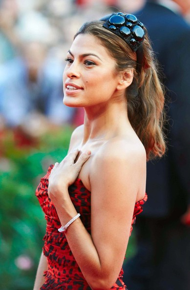 "Actress Eva Mendes arrives at the 66th Venice Film Festival for the Movie Premiere ""Bad Lieutenant""."