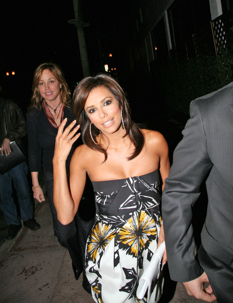 Eva Longoria Celebrates Her Birthday at Beso
