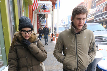 Evan Peters Emma Roberts Emma Roberts and Evan Peters Are Seen in Park City during Sundance Film Festival