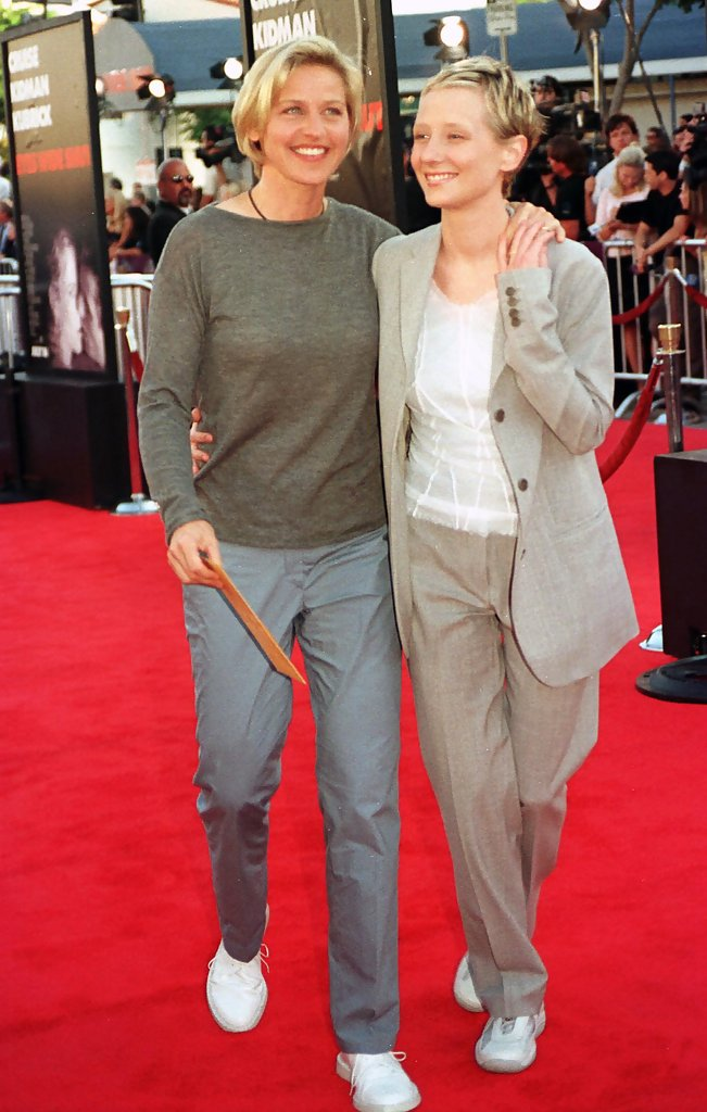 Anne Heche and ellen