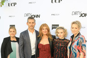 Alexandra Cunningham, Eric Bana, Connie Britton, Julia Garner and Jean Smart are seen attending the FYC red carpet of Bravo's 'Dirty John' at Saban Media Center in Los Angeles, California.
