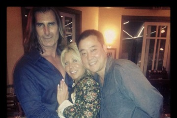 Fabio Lanzoni Pamela Bach-Hasselhoff Gets Dinner with Friends