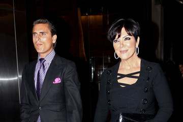 Kris Jenner Scott Disick Stars at Fashion's Night Out in New York