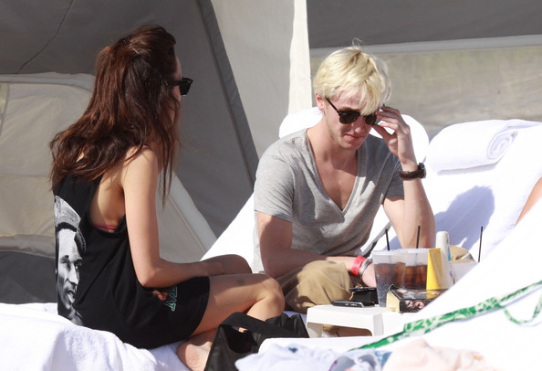 tom felton girlfriend. Jade Olivia Actor Tom Felton