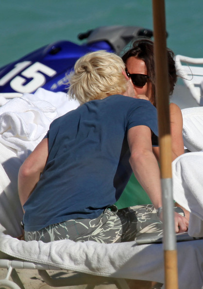 tom felton girlfriend. Tom Felton on the Beach