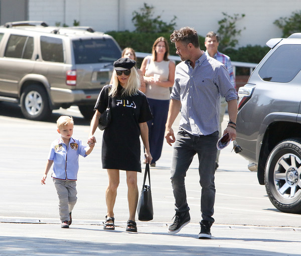 Fergie and Josh Duhamel Head Out in L.A.