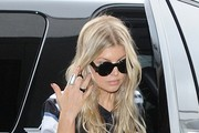Fergie at LAX