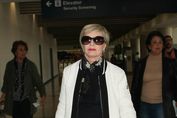 Florence Henderson Florence Henderson at LAX