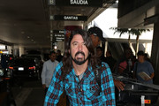 Foo Fighters Is Seen at LAX