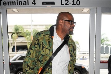 Forest Whitaker Forest Whitaker Arrives at LAX