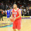 Frankie Delgado Ace Family Chris Brown Basketball Charity Event at Staples Center