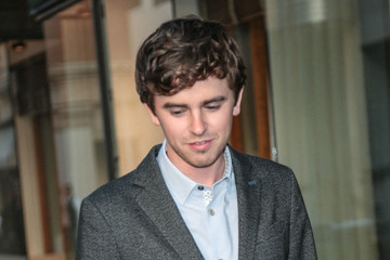 Freddie Highmore Freddie Highmore Outside Sony Theatre In Culver City