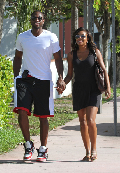 Dwyane Wade and Gabrielle Union - Gabrielle Union and Dwayne Wade in Miami
