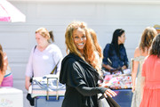 Tyra Banks is seen in Los Angeles, California.