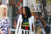 Garcelle Beauvais out and about