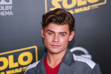 Garrett Clayton Premiere Of Disney Pictures and Lucasfilm's 'Solo: A Star Wars Story'
