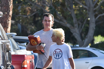 Gavin Rossdale Gavin Rossdale and Son Kingston Are Seen Out