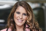 Gemma Oaten Arrives at the ITV Studios