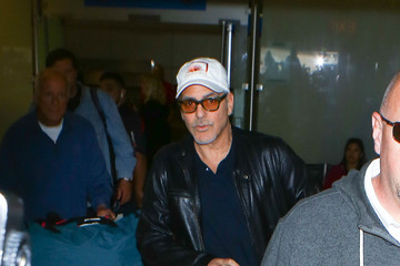 George Clooney George Clooney Is Seen at LAX