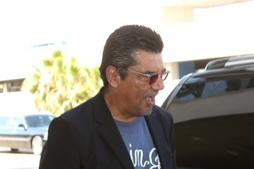 George Lopez George Lopez Arrives at LAX