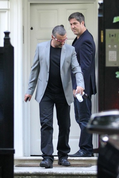 george michael leaves home 2 in this photo fadi fawaz george michael